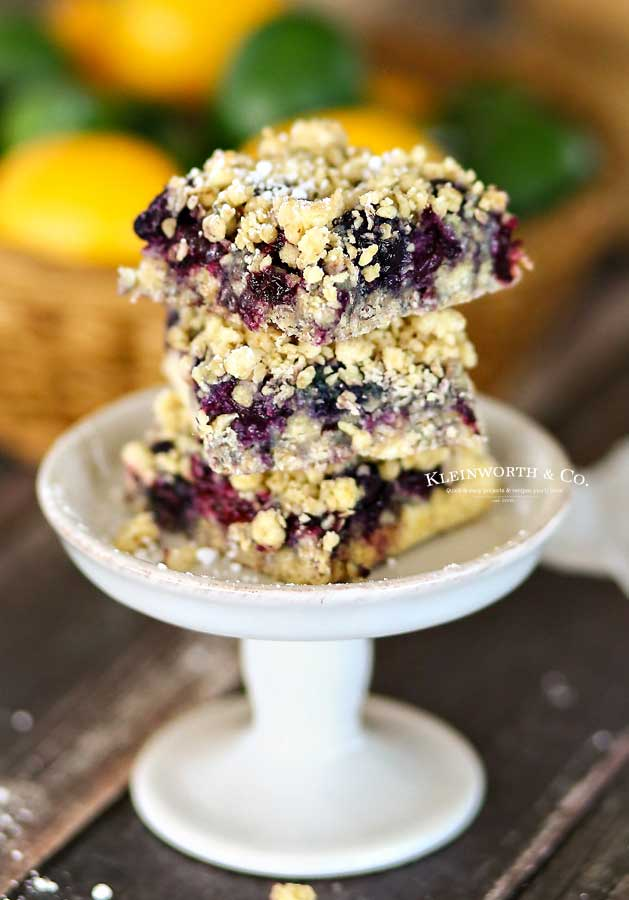 blueberry oat bars - Blueberry Crumble Bars