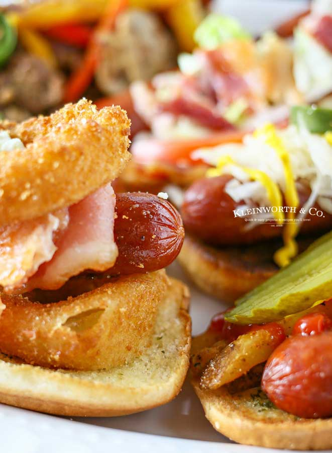 backyard bbq - Gourmet Hot Dogs
