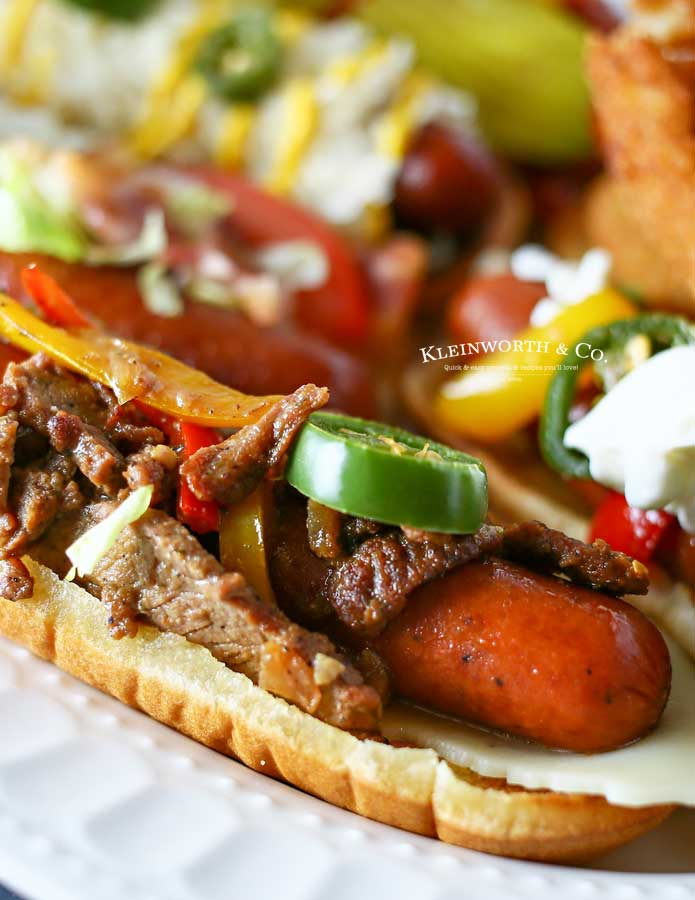 how to make Gourmet Hot Dogs