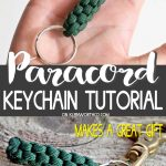 Paracord Survival Keychain - paracord keychain diy