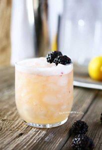 Blackberry Whiskey Drink