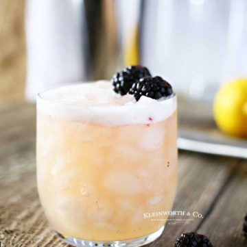 Blackberry Whiskey Drink