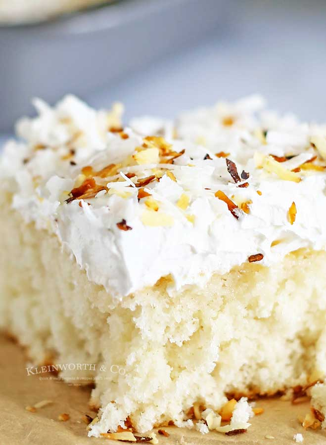 Summer cake recipes -Coconut Cream Cake
