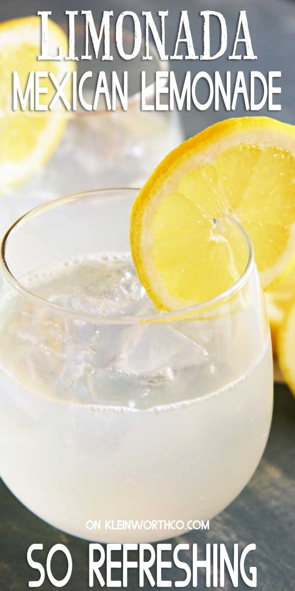 Mexican Lemonade Recipe
