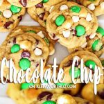 St. Patrick's Day Mint Chocolate Chip Cookies