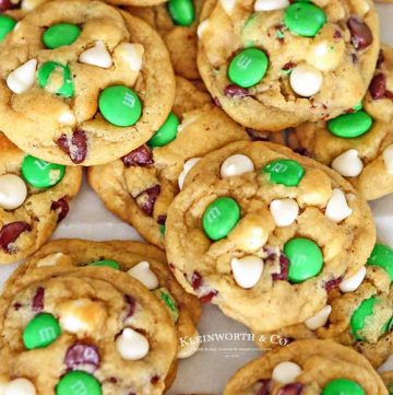 Recipe for St. Patrick's Day Mint Chocolate Chip Cookies