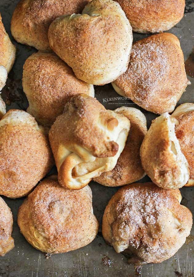 thanksgiving recipe - Apple Pie Pockets