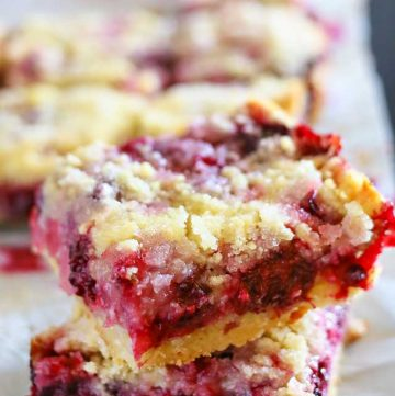 how to make Blackberry Crumb Bars