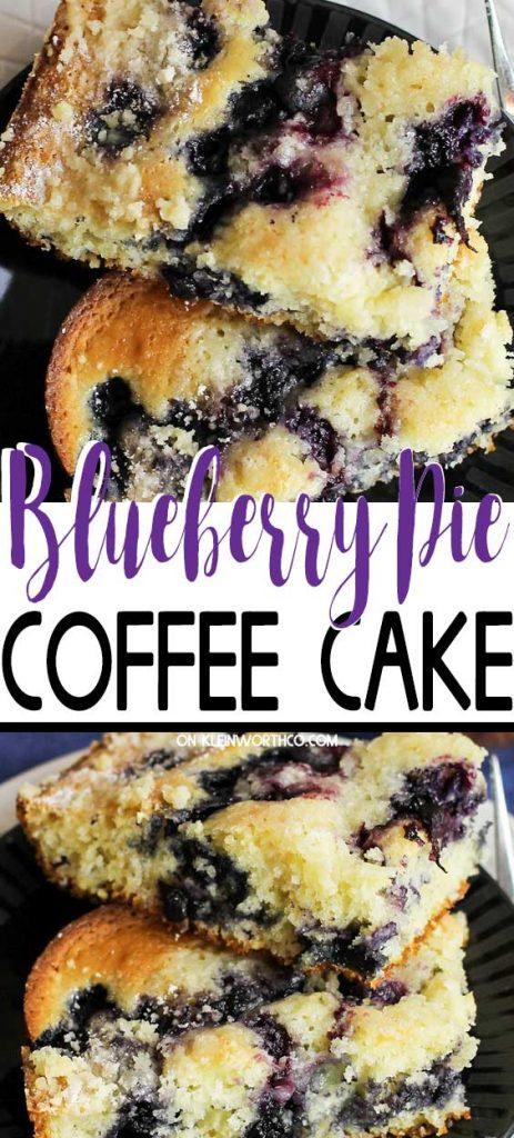 Blueberry Pie Coffee Cake