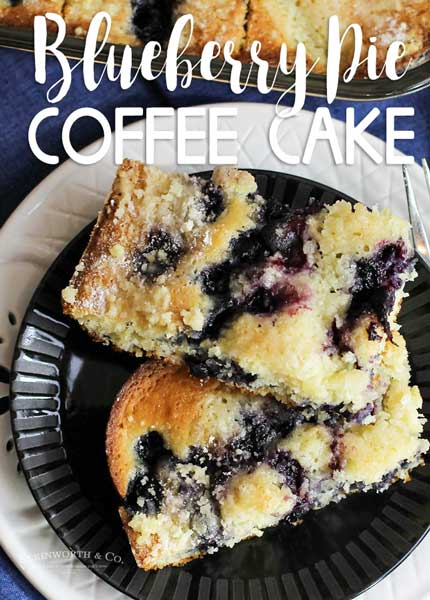 Blueberry Pie Coffee Cake