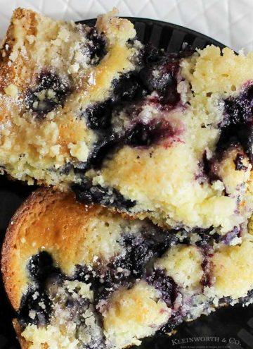 Blueberry Pie Coffee Cake recipe
