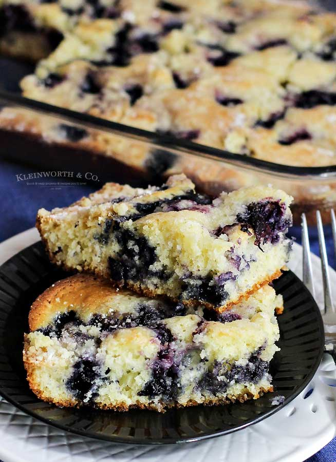 how to make Blueberry Pie Coffee Cake