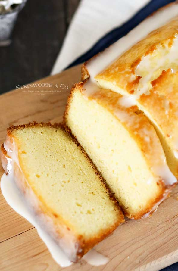citrus - Lemon Pound Cake
