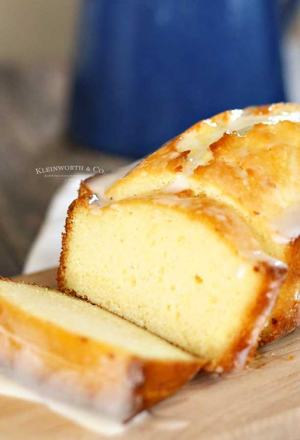 starbucks copycat recipe - Lemon Pound Cake