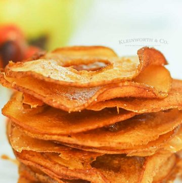 dehydrated pear slices - Cinnamon Pear Chips