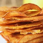 fall recipe -Cinnamon Pear Chips