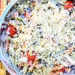 side dish recipe - Parmesan Ranch Pasta Salad