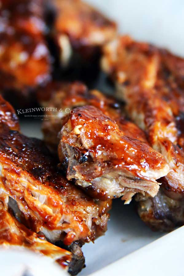 summer recipe Baby Back Ribs