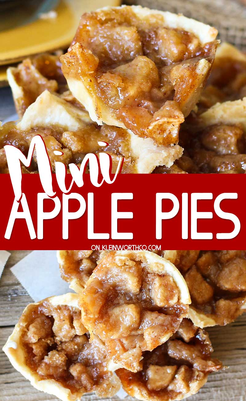Mini French Apple Pies