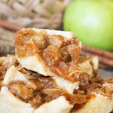 easy mini apple pies - Mini French Apple Pies