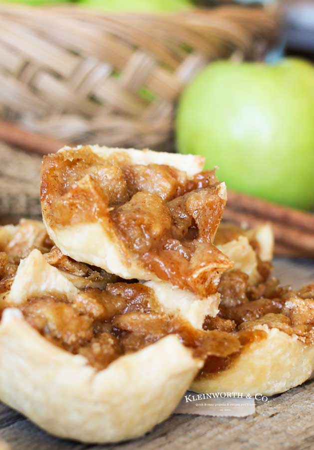 easy mini apple pies - Mini French Apple Pies
