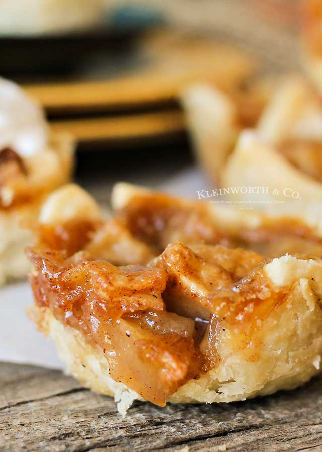 Mini French Apple Pies recipe
