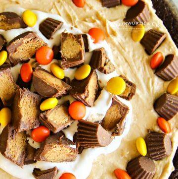 Easy dessert - No-Bake Peanut Butter Pie