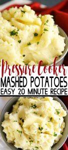 Pressure Cooker Mashed Potatoes